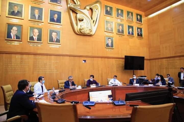 SESIONA EL CONSEJO DE SALUBRIDAD GENERAL DEL IMSS